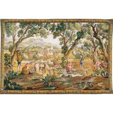 Halte Des Chasseurs French Tapestry Wall Hanging