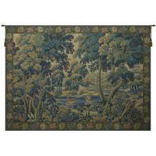 Verdure Colverts French Tapestry Wall Hanging