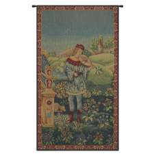 Le Troubadour French Tapestry Wall Hanging