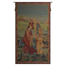 La Damoiselle French Tapestry Wall Hanging