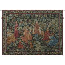 Jardin Secret French Tapestry Wall Hanging