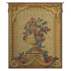 Vase Chambord Creme French Tapestry Wall Hanging