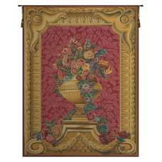 Vase Chambord Framboise French Tapestry Wall Hanging