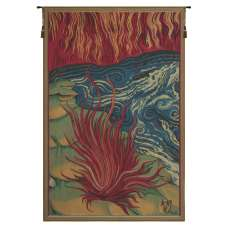 Le Feu I French Tapestry Wall Hanging