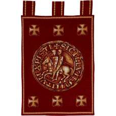 Templiers French Tapestry Wall Hanging