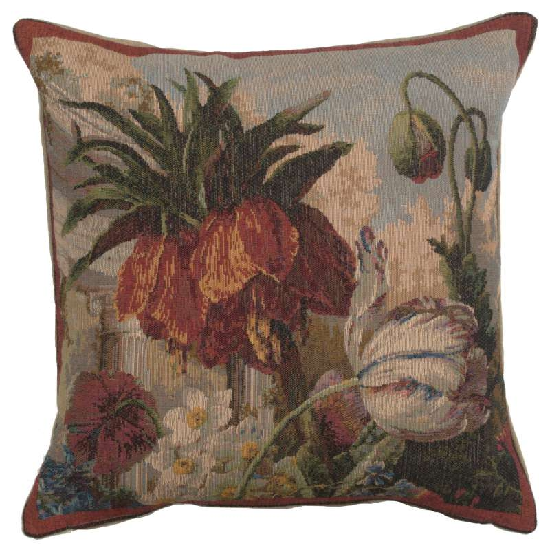 Fleur Exotique French Tapestry Cushion