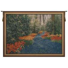 Keukenhof Blue Belgian Tapestry