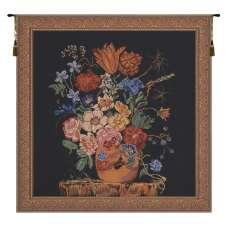 Verendael Terra Cotta Black Belgian Tapestry