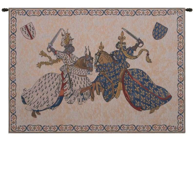Tournament of Knights Roi Rene Belgian Tapestry