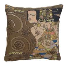Klimt Nuit - L'Attente French Tapestry Cushion