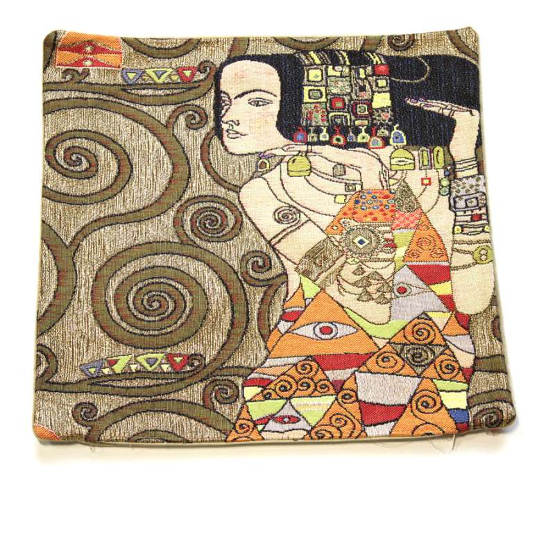Klimt Or - L'Attente French Tapestry Cushion