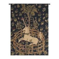 Unicorn in Captivity V European Tapestry
