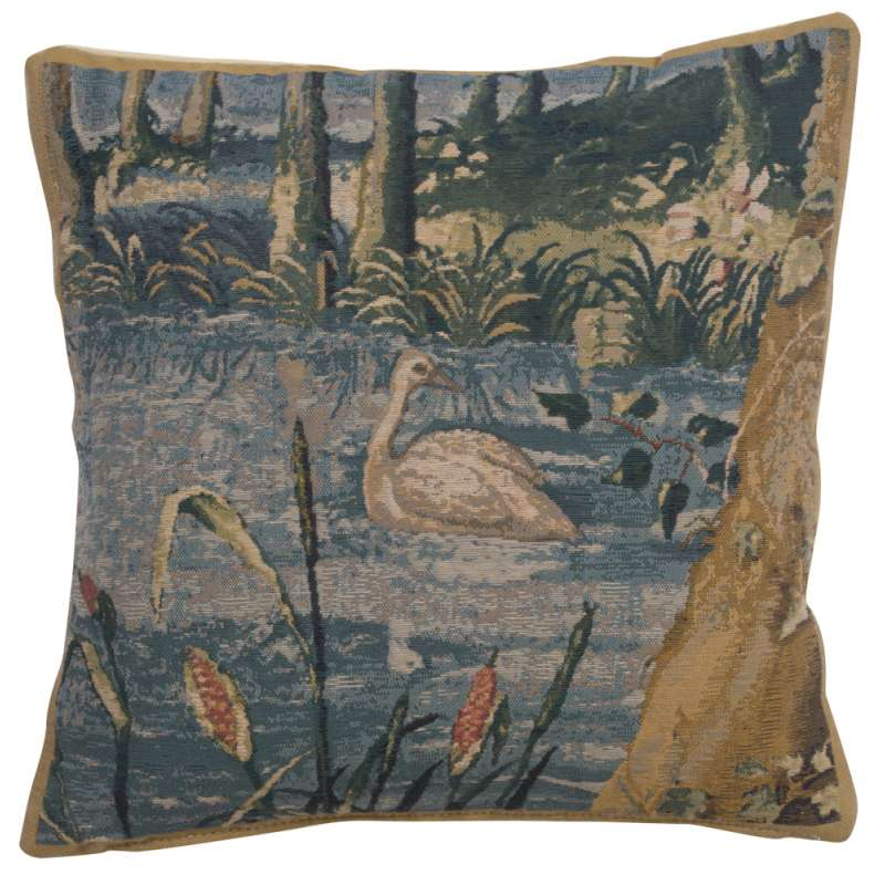Wawel Forest right Belgian Tapestry Cushion