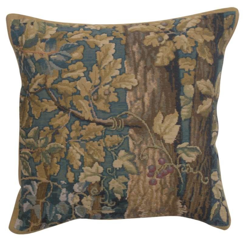 Wawel Timberland Leaves Belgian Tapestry Cushion