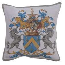 Blason Belgian Tapestry Cushion