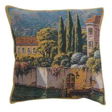 Varenna Reflections Village Right Belgian Tapestry Cushion