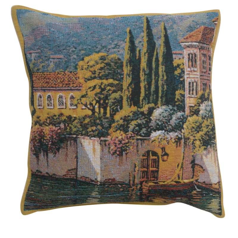 Varenna Reflections Village Right Belgian Tapestry Cushion