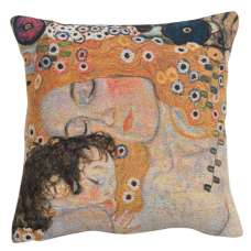 Mother and Child 1 Decorative Tapestry Pillow