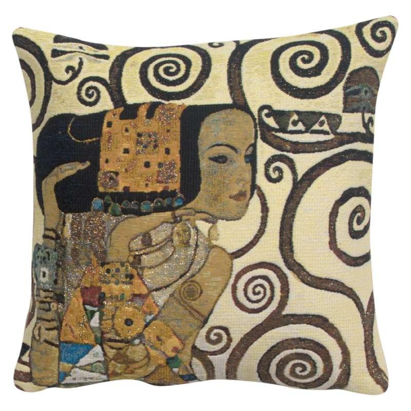 Lebensbaum Expectations Belgian Tapestry Cushion