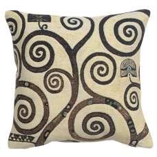 Lebensbaum  Branches Belgian Tapestry Cushion