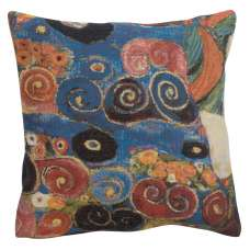 Virgin Dress Belgian Tapestry Cushion
