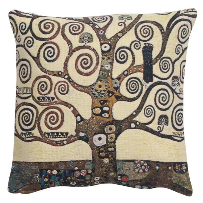 Lebensbaum Tree Belgian Tapestry Cushion