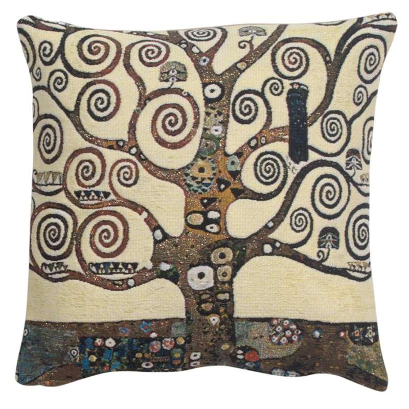 Lebensbaum Tree Belgian Tapestry Cushion