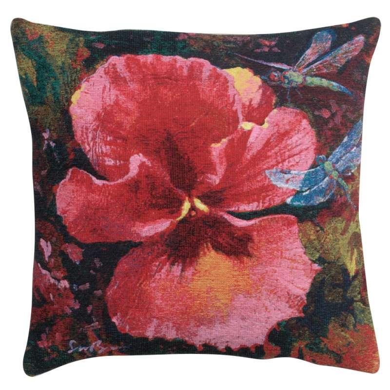 Gratitude I Belgian Tapestry Cushion