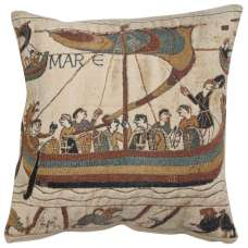 Navigio I Belgian Tapestry Cushion
