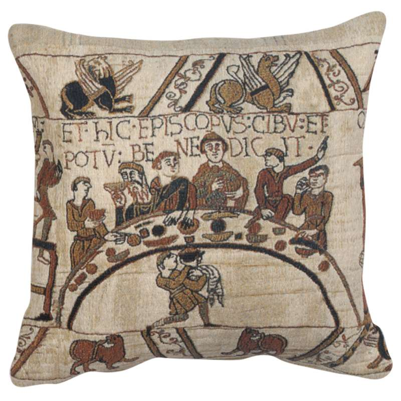 Banquet Table Belgian Tapestry Cushion