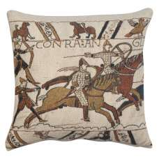 Battle of Hastings 1 Belgian Tapestry Cushion