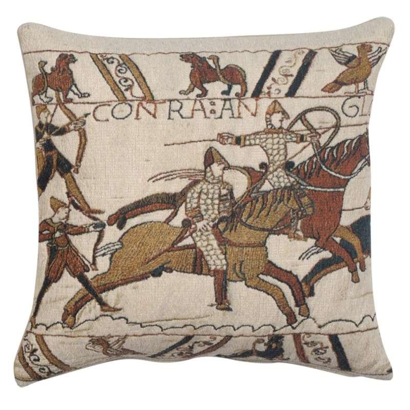 Battle of Hastings 1 Belgian Tapestry Cushion