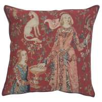 Licorne Gout Decorative Tapestry Pillow