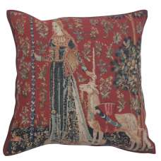 Licorne Gout II Belgian Tapestry Cushion