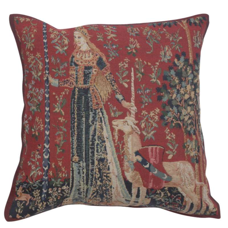 Licorne Gout II Decorative Tapestry Pillow