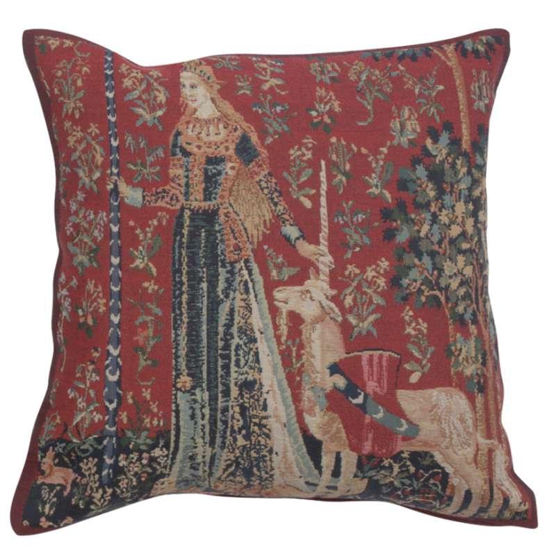 Licorne Gout II Belgian Tapestry Cushion