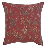 Licorne Mille Fleurs II Decorative Tapestry Pillow