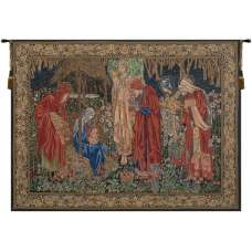 Adoration of the Magi 1 European Tapestry Wall Hanging