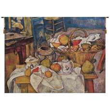 Cezanne Basquet on Table Belgian Tapestry Wall Hanging