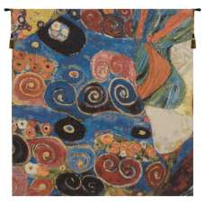 Virgin Klimt Dress Belgian Tapestry Wall Hanging