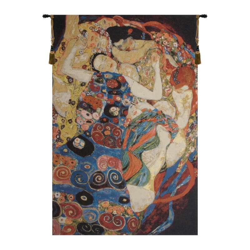 Virgin Klimt Belgian Tapestry Wall Hanging