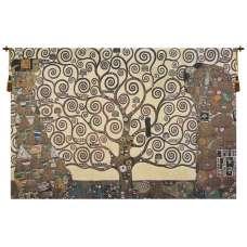 Lebensbaum- Kiss Belgian Tapestry Wall Hanging