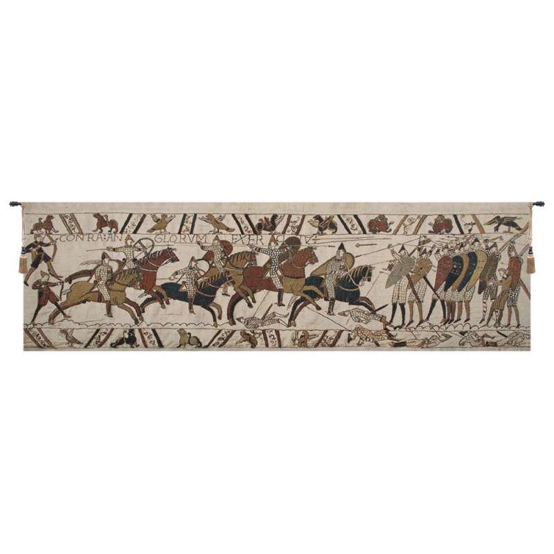 Battle of Hastings II Belgian Tapestry Wall Hanging