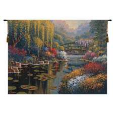 Giverny Pond Flanders Tapestry Wall Hanging