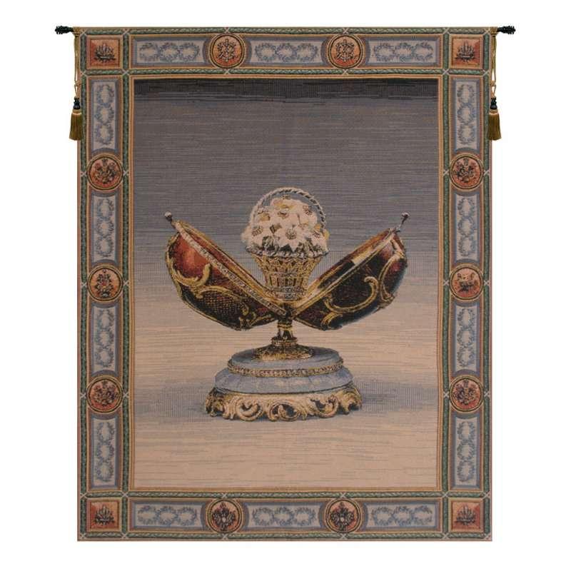 Spring Flower - Russian Jewel II Belgian Tapestry Wall Hanging