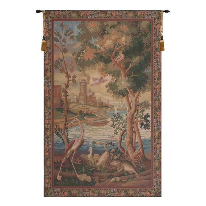 Flamingo Belgian Tapestry Wall Hanging