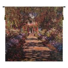 Allee De Monet Belgian Tapestry Wall Hanging