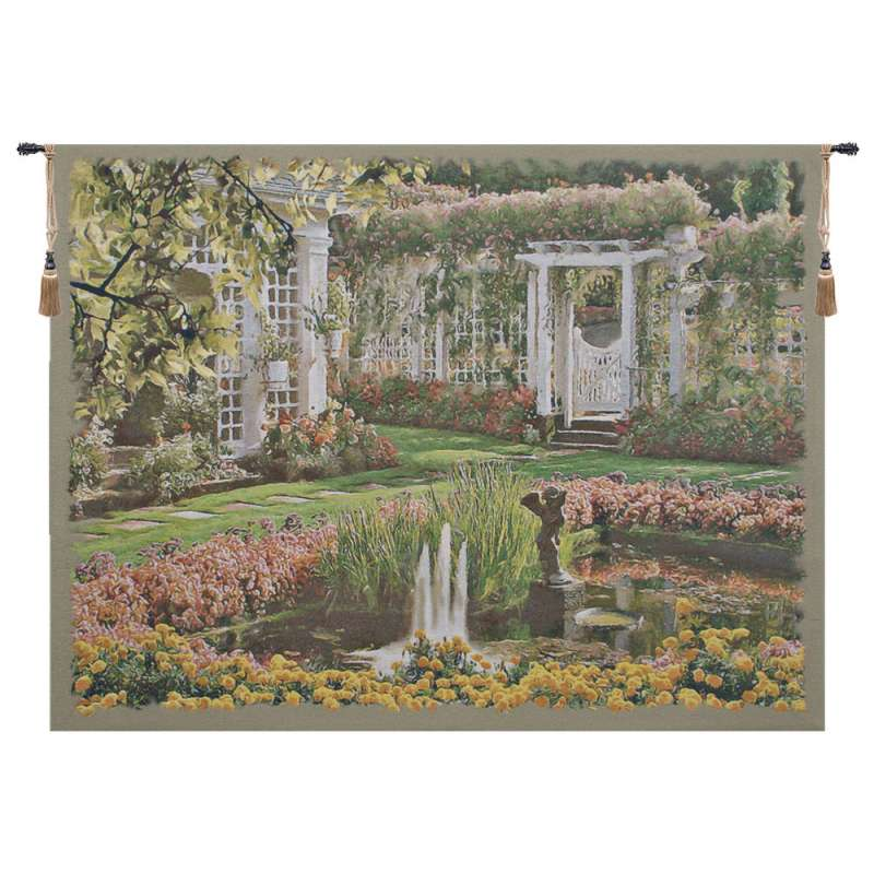 Jardin Top Belgian Tapestry Wall Hanging