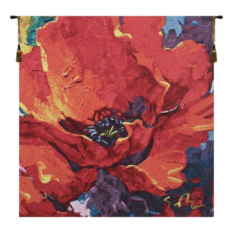 Desiree by Simon Bull III Belgian Tapestry Wall Hanging