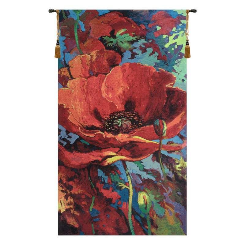 Awakening Belgian Tapestry Wall Hanging